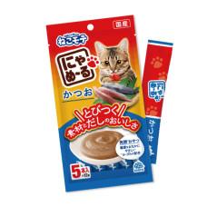 和味2.0喵喵叫肉泥條(12克*5入)【日本燒津鰹魚】(日本製)(貓零食)
