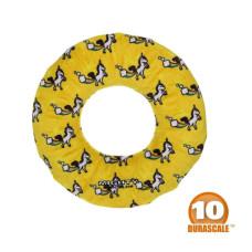 2-IN-1甜甜圈 獨角獸黃(直徑25公分)(狗玩具)