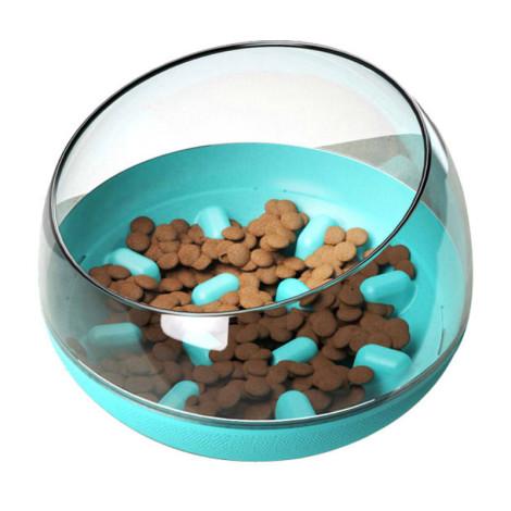 太空艙造型不倒翁慢食碗( 藍色),bd_家具_食器類,CSS_任2件75折,bd_熱銷