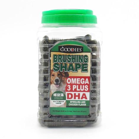 機能牙刷形潔牙骨 螺旋藻 1.4公斤 (9cm約83支) (狗零食),bd_潔牙零食