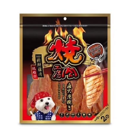 美味玩賞狗狗零食大包裝(兩袋入)【炙燒碳烤愛心雞】(1包),PD_量販肉乾_3包499,bd_多貓多狗_聖誕,CSS_多貓多狗_聖誕