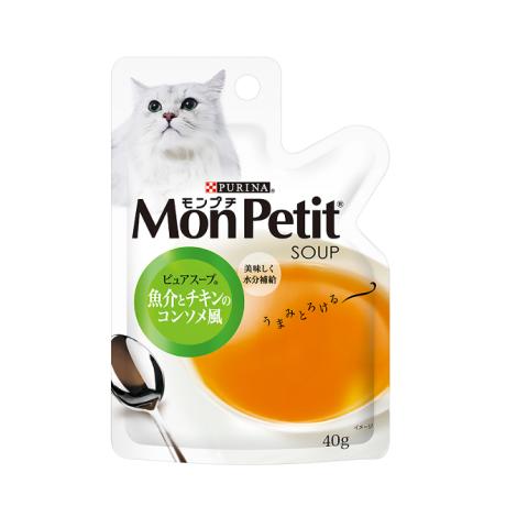 (即期)純湯包系列 40克【雞肉海鮮燉湯(純湯)】(1入)(貓副食餐包) (效期2022.03.01),bd_即期飼料,CSS_出清