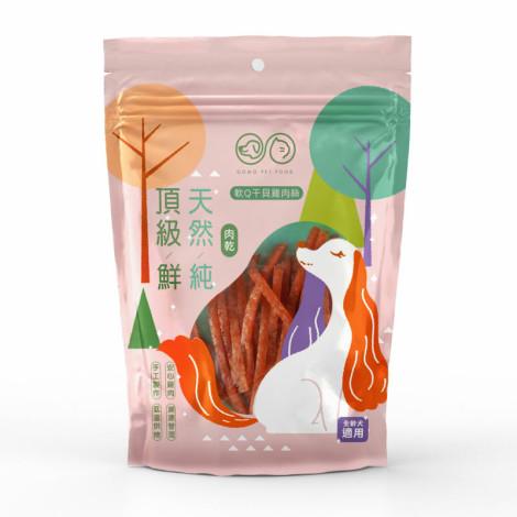 PET FOOD 軟Q干貝雞肉絲80克(狗零食),bd_新品_20210727,bd_KOL,CSS_大成GOMO_3包399,PD_量販肉乾_3包399