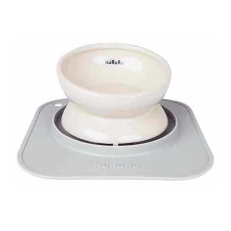 Wu-mai兩用陶瓷寵物碗 質感灰(含防蟻墊) ,CSS_新品,bd_新品_20211013