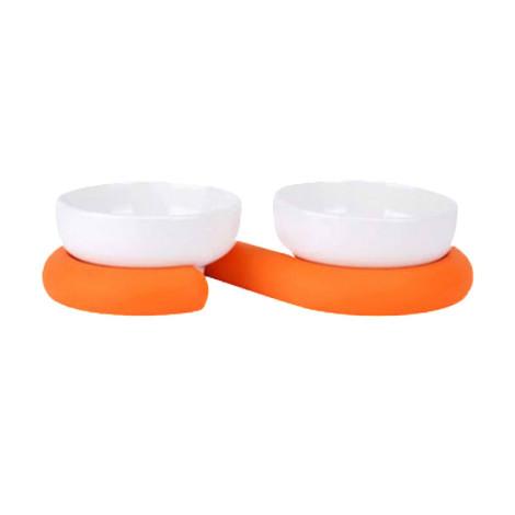 超質感雙碗 白橘(30x7公分),bd_新品_20211013,PD_萬聖節專區,PD_快閃1029到期,CSS_橘系