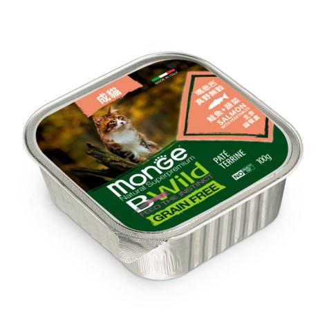 真野無穀 貓餐盒100克【鮭魚+蔬菜】(6入)(貓主食餐盒)
