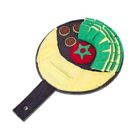 炒鍋盤益智藏食玩具藏食墊子(27x39公分)(狗玩具),CSS_新品,bd_新品_20210915