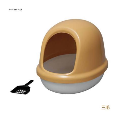 簡易半封閉式貓便盆 三花 (50*39.4*39公分),bd_新品_20210421