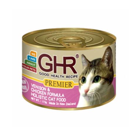 貓用主食罐175克【鹿肉+雞肉配方】(1入)(貓主食罐頭)