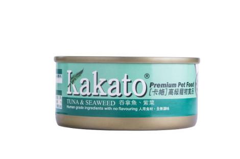 卡格餐食罐 70克【鮪魚.紫菜】(1入) (犬貓副食餐罐),package:罐