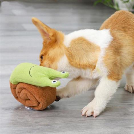 魔術蝸牛寵物毛絨玩具(14x7.5x22公分)(狗玩具),CSS_新品,bd_新品_20210915