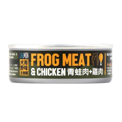 犬野味主食罐82克【青蛙雞肉】(6入)(狗主食罐頭),bd_野味系列
