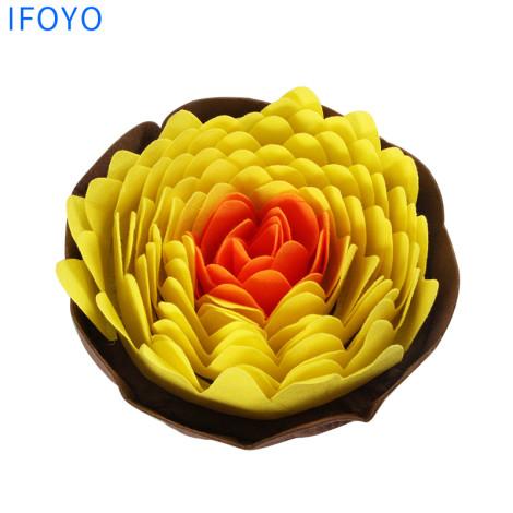藏食墊 開花橘黃(27x27公分),CSS_新品,bd_新品_20210915