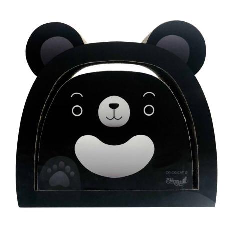 貓抓板 台灣黑熊(43.5*27*40.5公分),bd_新品_20210415,CSS_酷酷貓送貓草罐