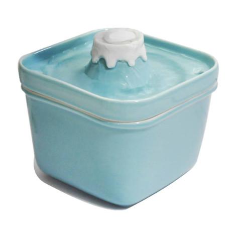 陶瓷富士山寵物飲水機850ml 藍 ,bd_電動飲水機,bd_新品_20210421,CSS_新品,bd_熱銷飲水機