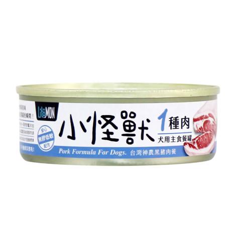 犬1肉主食罐82克【黑豬肉】(1入)(狗主食罐頭),bd_一種肉主食罐