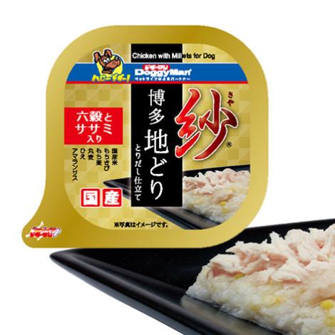 紗餐盒-日本博多放牧雞 六種穀物 100克 雞胸肉(6入) (狗副食罐頭),package:盒,flavor:雞,firstIngredient:雞鮮肉