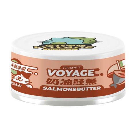 世界風貓咪主食罐80克【義式奶油鮭魚】(24入)(貓主食罐頭)(整箱罐罐),CSS_主食罐送舔食墊