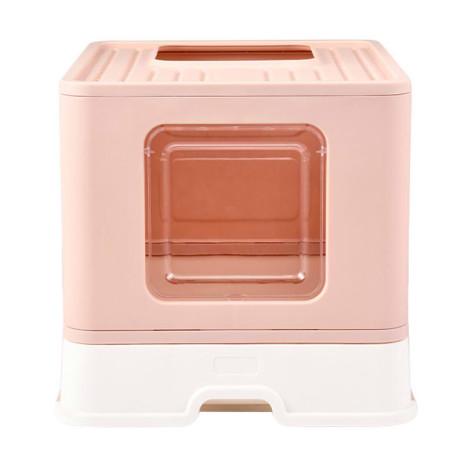 折疊貓砂盆 粉色(48x40x38公分),CSS_新品,bd_新品_20210915