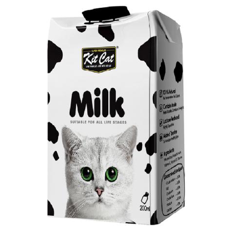 0乳糖不腹瀉!寵物鈣多多牛奶 200ml (6入) 犬貓用牛乳鮮奶零食挑食推薦,package:罐