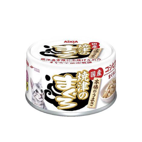 燒津系列 70克【#44鮪魚+雞肉+米】(24入) (貓副食餐罐)(整箱罐罐),age:全齡,flavor:魚,firstIngredient:魚鮮肉