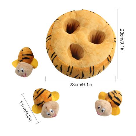 寵物蜜蜂抓迷藏玩具(23x23x9公分)(狗玩具),CSS_新品,bd_新品_20210915
