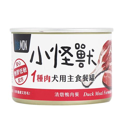 犬1肉主食罐165克【鴨肉】(24入)(狗主食罐頭)(整箱罐罐),bd_一種肉主食罐