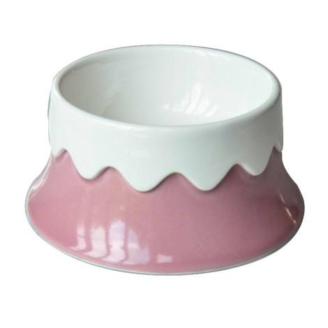 陶瓷富士山寵物碗 單碗 (粉),bd_新品_20210421,CSS_新品,bd_熱銷餐碗