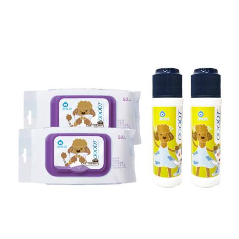 【身體清潔】乾洗粉X2+濕紙巾X2,CSS_388折30