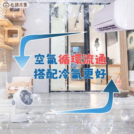冷氣省20%電費就靠他! 日本IRIS PCF-HD15 6吋空氣循環扇 靜音 省電 調節室內氣溫,bd_熱銷,bd_即期飼料