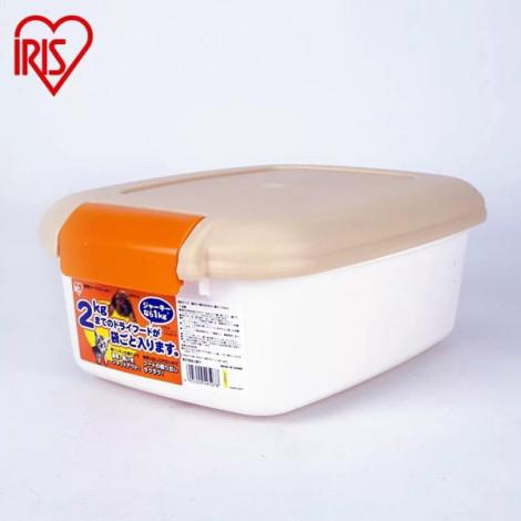 【IRIS】飼料儲存筒2公斤 黃色,bd_熱銷貓用品