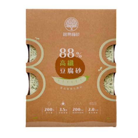 88%高纖豆腐砂 綠茶 6L(3入),CSS_貓砂滿388折30,CSS_路易_9折