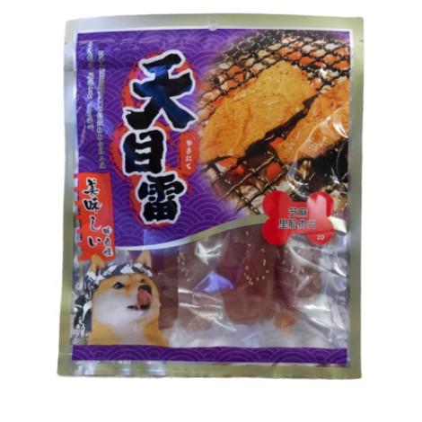 芝麻里肌肉片 150克 (狗零食),package:包,PD_量販肉乾_3包499,bd_多貓多狗_聖誕,CSS_多貓多狗_聖誕