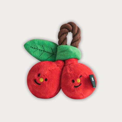 造型玩具 櫻桃姊妹(10*10公分)(狗玩具),CSS_新品,bd_新品_20210601
