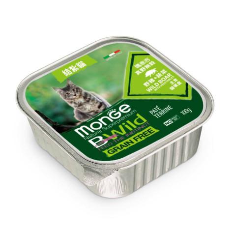 真野無穀 貓餐盒100克【野豬+蔬菜】(32入)(貓主食餐盒),bd_新品,CSS_新品