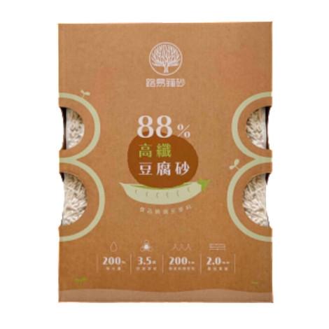 88%高纖豆腐砂 原味 6L(1入),CSS_貓砂滿388折30,CSS_路易_9折
