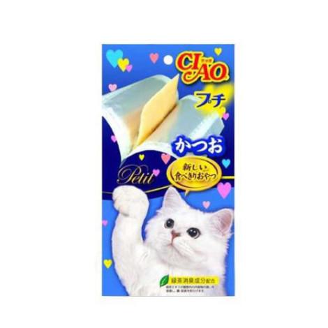 噗啾肉泥 40克(5入/包)【鰹魚】(1包) (貓零食),零食:肉泥